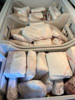 Frozen beef ready for freezer! Located in NCK. 785-477-8606